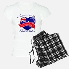 Australia Flag Design Pajamas