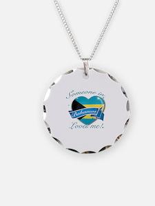 Bahamas Flag Design Necklace