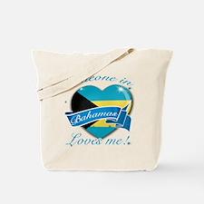 Bahamas Flag Design Tote Bag