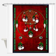 Funny Native american legends Shower Curtain