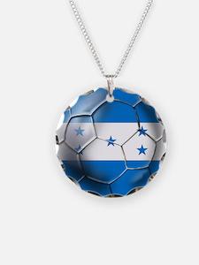 Honduras Football Necklace