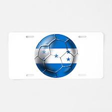 Honduras Football Aluminum License Plate