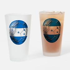Honduras Football Drinking Glass