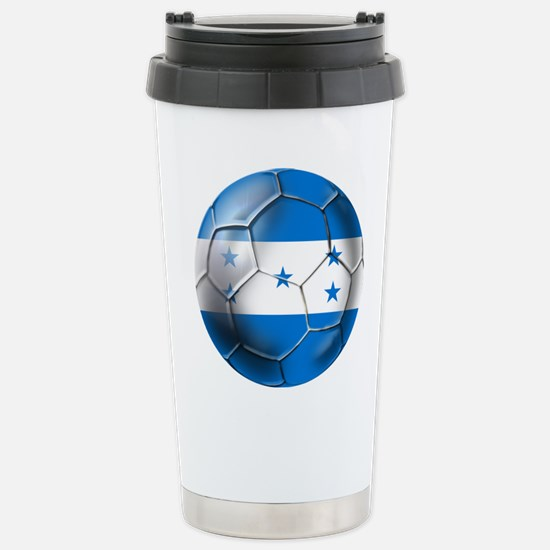 Honduras Football Stainless Steel Travel Mug