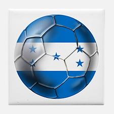 Honduras Football Tile Coaster