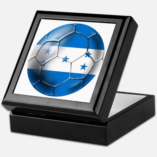 Honduras Football Keepsake Box