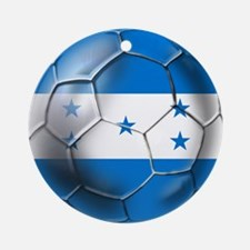 Honduras Football Ornament (Round)