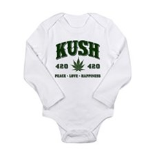 KUSH Long Sleeve Infant Bodysuit