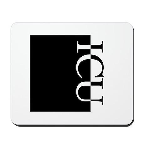 ICU Typography Mousepad