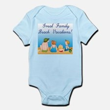 Family Vacations Infant Creeper