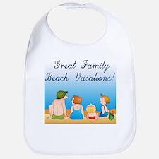 Family Vacations Bib