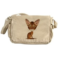 Aby Caricature Messenger Bag