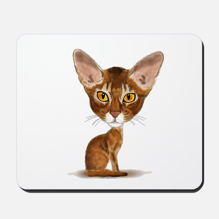 Aby Caricature Mousepad