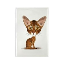 Aby Caricature Rectangle Magnet
