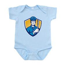 policeman Infant Bodysuit