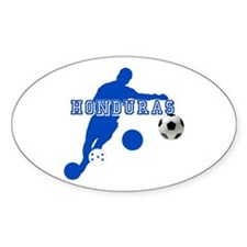 Honduras Soccer Player Decal