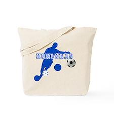 Honduras Soccer Player Tote Bag