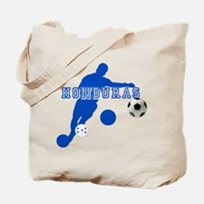 Honduras Soccer Player Tote Bag