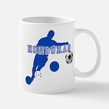 Honduras Soccer Player Mug