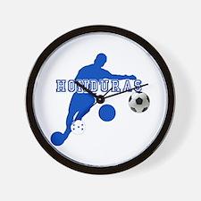 Honduras Soccer Player Wall Clock