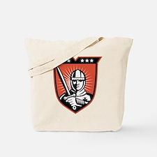 knight warrior crusader Tote Bag