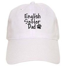 English Setter DAD Baseball Cap