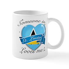 St. Lucia Flag Design Mug