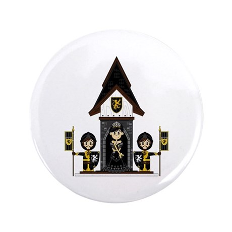 "Princess and Black Knights 3.5"" Button (100 P"