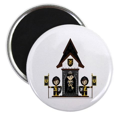 Princess and Black Knights Magnet