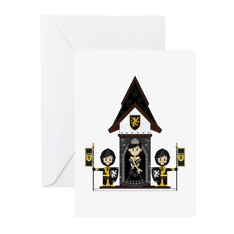 Princess and Black Knights Cards (Pk of 20)