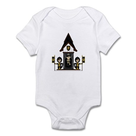 Princess and Black Knights Infant Bodysuit