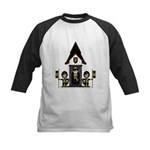 Princess and Black Knights Kids Baseball Jersey