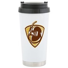 welding torch visor Travel Coffee Mug