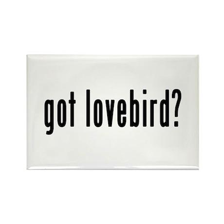 GOT LOVEBIRD Rectangle Magnet