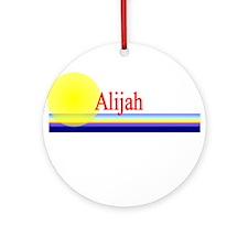 Alijah Ornament (Round)