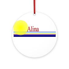 Alina Ornament (Round)