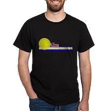 Alina Black T-Shirt