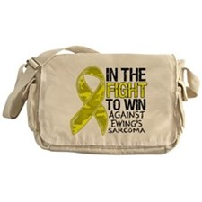 In The Fight Ewing Sarcoma Messenger Bag