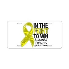 In The Fight Ewing Sarcoma Aluminum License Plate