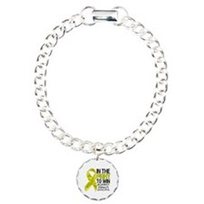 In The Fight Ewing Sarcoma Charm Bracelet, One Cha