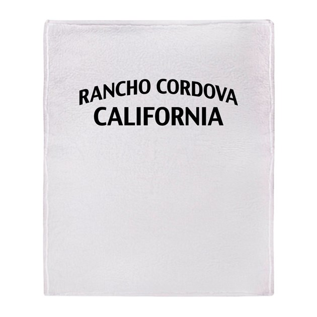Rancho Cordova California Throw Blanket By Zpcalifornia