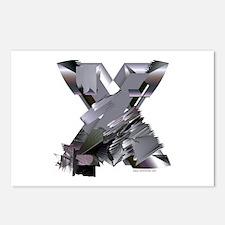 Heavy Metal X Postcards (Pack of 8)