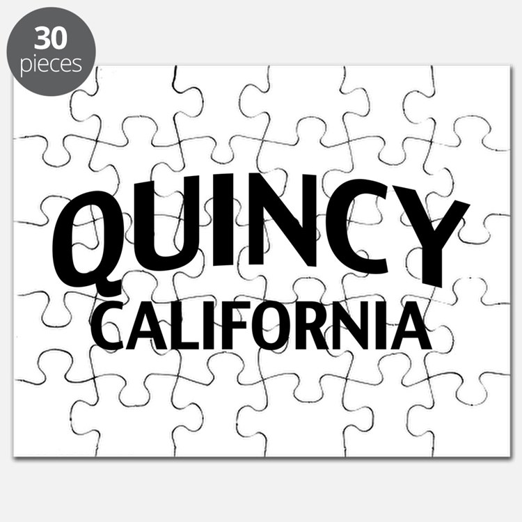 Quincy California Puzzle