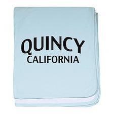 Quincy California baby blanket