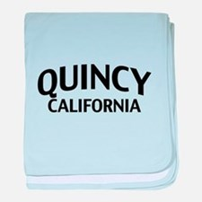 Quincy California baby blanket