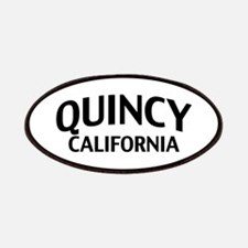 Quincy California Patches