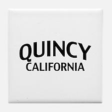 Quincy California Tile Coaster