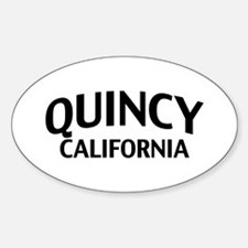 Quincy California Decal