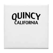 Quincy California Tile Coaster
