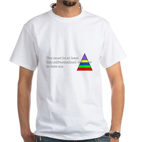 WHITE-Self-actualized T-Shirt